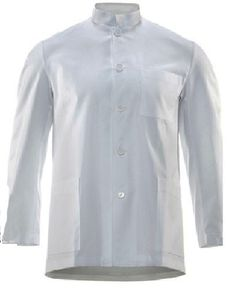Las chaquetas económicas para cocineros que distribuye Grupo Textil están confeccionadas en un tejido apto para aguantar numerosos ciclos de lavados, en tejido mezcla en poliéster y algodón, estas chaquetas son de manga larga, con bolsillo en el pecho y dos bolsillos inferiores, se cierra con botones. Disponible en color blanco o negro. http://www.grupotextil-bataspersonalizadas.net/chaquetas/51-chaquetas-economicas-para-cocineros-30220.html