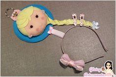 Porta tiara Elsa