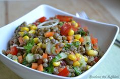 insalata estiva di lenticchie