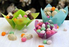 Tu to Pâques : Cocottes en papier calque