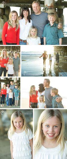 family photos Crystal Pier #photographybyalison #family photos #beach photos #san diego