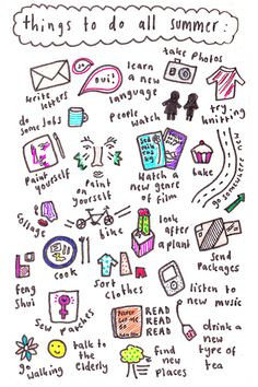 things to do this summer when bored out of your mind! Have to do some of these!