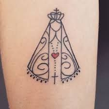 Image result for tatuagem de nossa senhora aparecida feminina