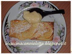 In Cucina Con Violetta: Sfogliatelle con crema pasticcera e mele Violetta
