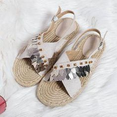 cee6f5bd1 Fashion Beach Flat Heel Sandals