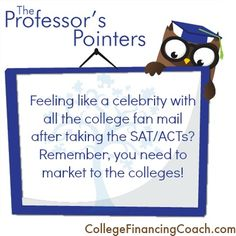 Why are you getting so many college brochures?