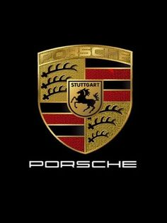 The horse on the Porsche logo, which was taken from Stuttgart's Coat of Arms, represents the stud farm on which the city was built. The Porsche symbol pays homage to Stuttgart. Porsche 911, Porsche Logo, Carros Porsche, Porsche 550 Spyder, Porsche Autos, Porsche Carrera Gt, Porsche Boxster, Cayman Porsche, Bugatti