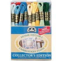 DMC Home Decor Embroidery Floss Pack - 36 Skeins