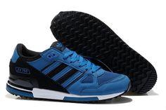 zapatillas adidas zx 750 hombre g61249 azul negras