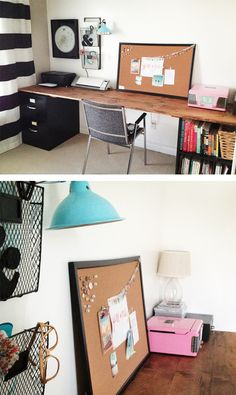 Something simple and functional. That's all I need. MADE BY CAY | a creative blog: Make This | DIY Desk