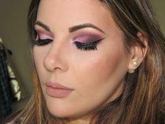 Vídeo tutorial de maquiagem romântica