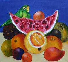 kahlo fruit_paintings - Google Search