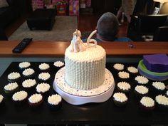 Final cake for Whitney's birthday!