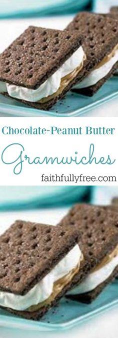 Biggest Loser Chocolate Peanut Butter Gramwiches                                                                                                                                                                                 More