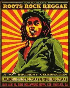 Marley concert poster