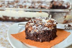 Mississippi Mud Cake- #southern #foodie #foodporn #recipe #cooking #recipes #MyBSisBoss