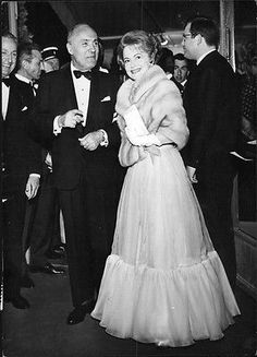 Vintage Photo Of Charles Boyer And Olivia De Havilland In Cannes. - Robert Cohe