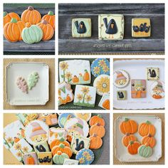 Fall scarecrows sunflowers and pumpkins | by Cookie Bliss (Laurie)