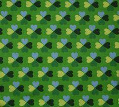 Klavertjes groen; tricot