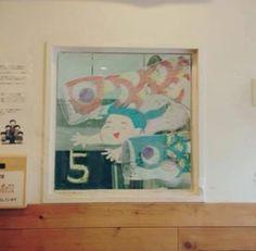 2015/2/2掲載 「ilebois」さんがおこさんの通われている保育園の窓に描かれている月替わりのイラスト作品です。5月 https://www.facebook.com/kitpas2005  #kitpas #キットパス