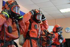 Dust Deputy, Hazmat Suit, Female Firefighter, Emergency Vehicles, Rain Wear, Golf Bags, Diving, Motorcycle Jacket, Hoods