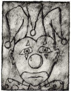 clown print Art Work, Fine Art, Artwork, Work Of Art, Visual Arts, Fine Art Paintings