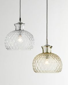 kitchen pendant lighting  Clark+One-Light+Pendant+by+Jamie+Young+at+Neiman+Marcus.