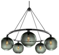 Sola 36 Modern Chandelier - modern - chandeliers - other metros - Niche Modern