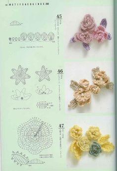 flores en crochet에 대한 이미지 검색결과