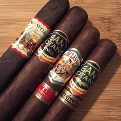 Which is your favorite? #cigars #AJFernandez #ajfcigars #newworld #sanlotano #enclave by ajfcigars