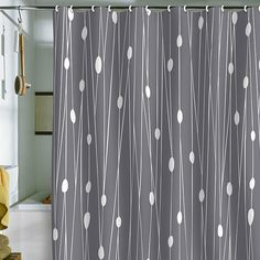 DENY Designs Heather Dutton Gray Entangled Shower Curtain from Pure Home