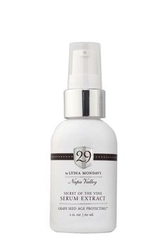 16 Surprising Beauty Buys You Can Find At Target #refinery29  http://www.refinery29.com/target-beauty-brands#slide-3  Lydia Mondavi's 29 was inspired by the beauty of California's Napa Valley, and consequently our favorite drink to indulge in — wine. Its Secret of the Vine Serum Extract helps fight signs of aging and enrich the skin with antioxidant grape seed, and olive and algae extracts.
