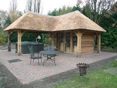Outdoor sauna by VSB Wellness.nl