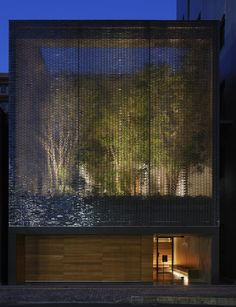 A garden enclosed by 6000 glass blocks | Optical Glass House by Hiroshi Nakamura, Hiroshima, Japan