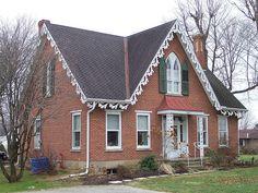 Carpenter Gothic House, Mt Vernon, Ohio