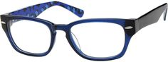 6019 Acetate Full-Rim Frame with Design on Temples-sunglasses for Trevor?