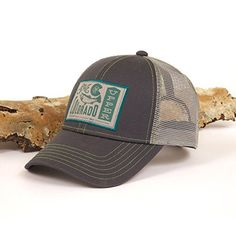 Fishpond Save The Colorado Logo Adjustable Velcro Fly Fishing Hat Cap- Dusk