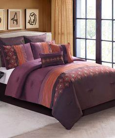Clermont Comforter Set by Victoria Classics #zulily #zulilyfinds