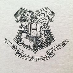 Yes it's Harry Potter, BUT the original artists for the HP house Coats of Arms modernized the style quite nicely. #harrypotter #heraldry #heraldikk #pa_n_igjen #jkrawling #hogwarts