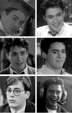 Robert Downey Jr. and my Sgt look sooo much alike at this age!