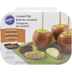 Wilton 1911-6000 Caramel Apple Dipping Tray, Assorted -- For more information, visit image link.