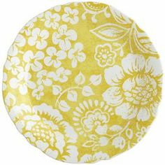 Chloe Salad Plate for wall in dining room