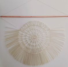 Paper Macrame by Griffin Carrick + Best of the Web / Design*Sponge