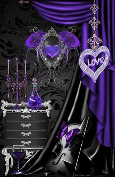 Purple Love, All Things Purple, Purple Hues, Shades Of Purple, Purple Stuff, Bow Wallpaper, Butterfly Wallpaper, Love Heart Images, Beautiful Images