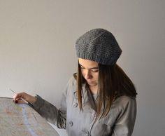 Basco grigio donna cappello inverno Accessori Donna di Notforeat