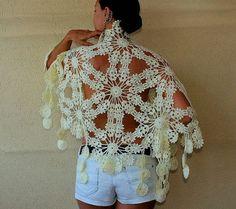 springtime crochet shawl