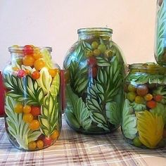 canned vegetables, canning Canning Pickles, Food Decoration, How To Make Cheese, Fermented Foods, Drying Herbs, Canning Recipes, Culinary Arts, Diy Food, Food Ideas