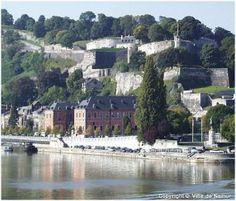 The citadel of Namur Belgium
