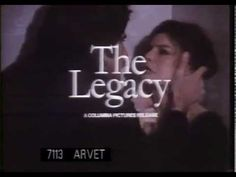Trailer for the 1978 supernatural horror thriller The Legacy, directed by Richard Marquand and starring: Katharine Ross, Sam Elliott and Roger Daltrey. Classical Opera, Sam Elliott, Sundance Kid, Dave Chappelle, Roger Daltrey, Best Supporting Actor, A Star Is Born, Future Wife, Rock Music