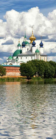 Rostov ( Monastery of St. Russian Architecture, Church Architecture, Largest Countries, Countries Of The World, Rostow Am Don, Travel Around The World, Around The Worlds, Wladimir Putin, Russia Ukraine